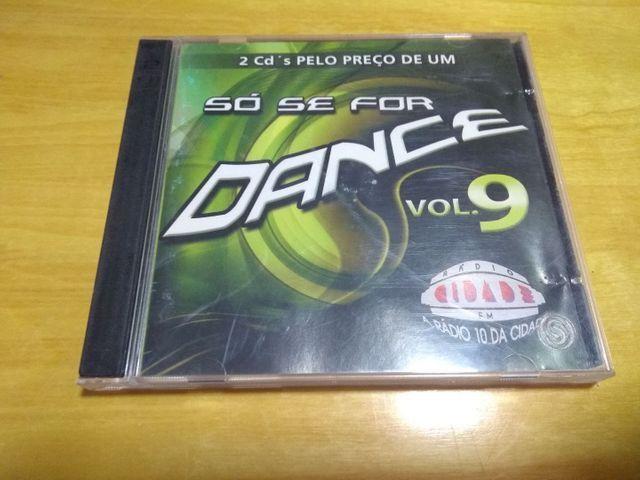 CD só se for dance vol 9 original - Foto 2
