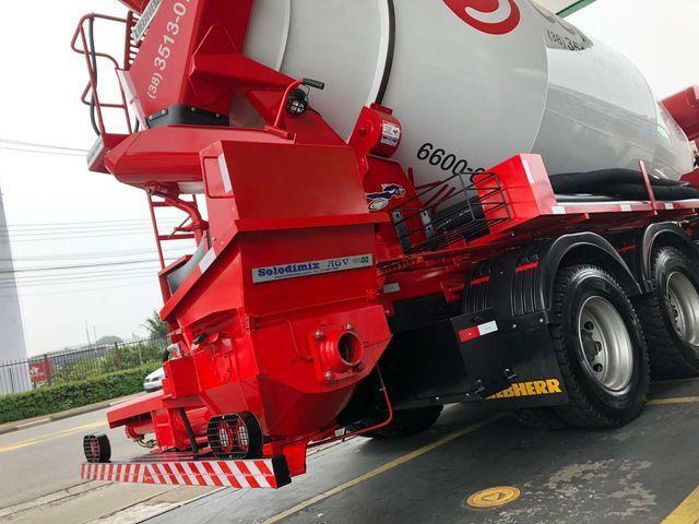 Locação Caminhão BETONEIRA 6x4 Bomba de Concreto Usina Cimento VW FORD MB Liebherr  - Foto 8