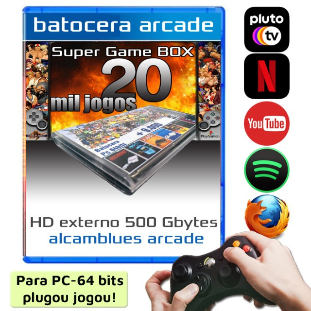 Multijogos Retro - 20Mil Jogos para PC 64Bits