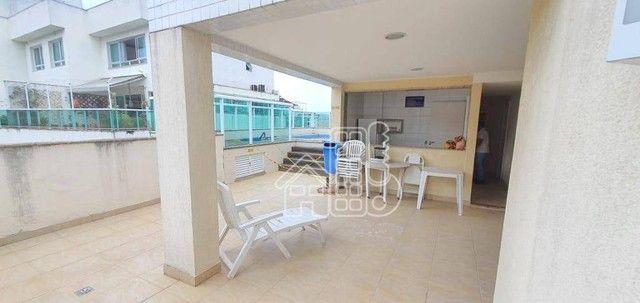 Apartamento com 3 dormitórios à venda, 130 m² por R$ 748.000,00 - Ingá - Niterói/RJ - Foto 14