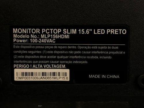Monitor Pctop Slim 15.6 e Samsung  - Foto 3