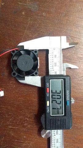 Cooler, ventoinha de 5V. 3cm por 3cm. Arduino, raspberry