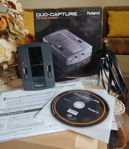 Interface de áudio Roland Capture Duo - Foto 3