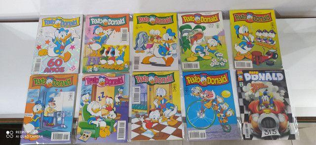 Gibis pato Donald coleção editora abril lote com 100 revistas em quadrinhos - Foto 4
