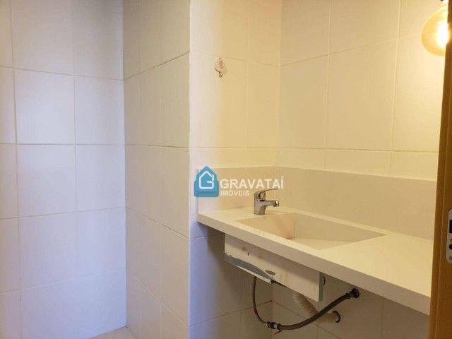 Apartamento com 2 dormitórios para alugar, 85 m² por R$ 2.200/ano - Centro - Gravataí/RS - Foto 11