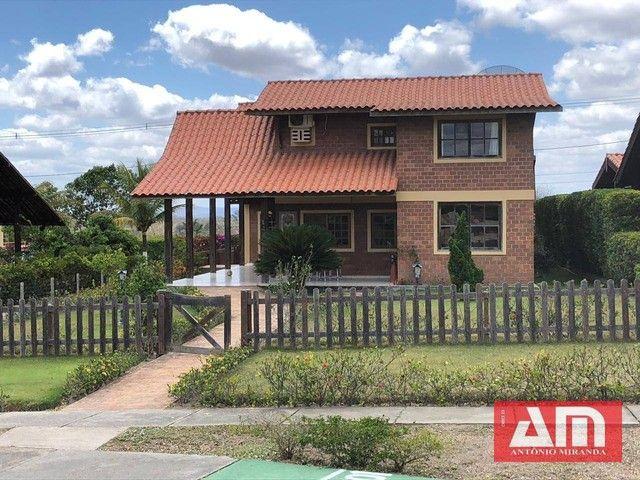 Casa com 6 dormitórios à venda, 350 m² por R$ 550.000,00 - Novo Gravatá - Gravatá/PE