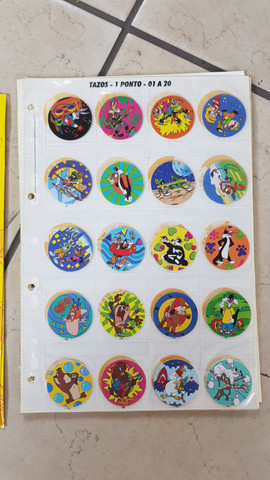 Coleção tazo Looney Tunes - Foto 2