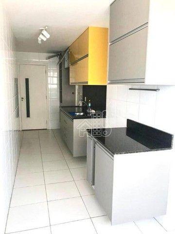 Apartamento com 3 dormitórios à venda, 130 m² por R$ 748.000,00 - Ingá - Niterói/RJ - Foto 5