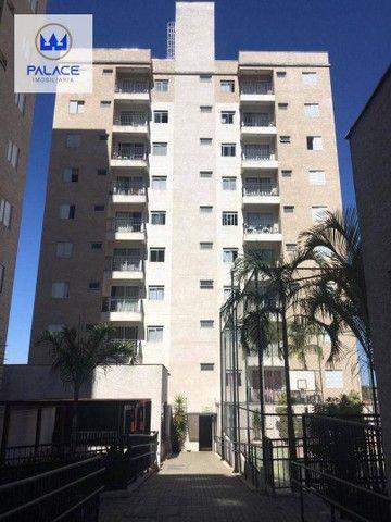Apartamento com 2 dormitórios para alugar, 45 m² por R$ 700/mês - Jardim São Mateus - Pira