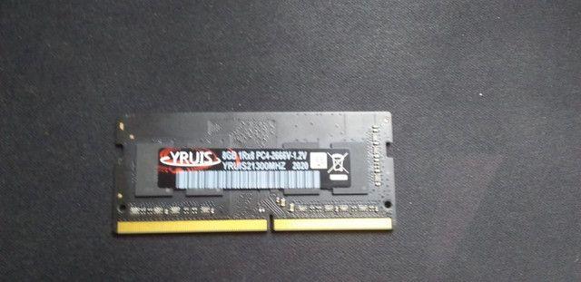Memória Ram Ddr4 8gb 2666 Mhz Para Notebook Nunca Usado - Foto 2