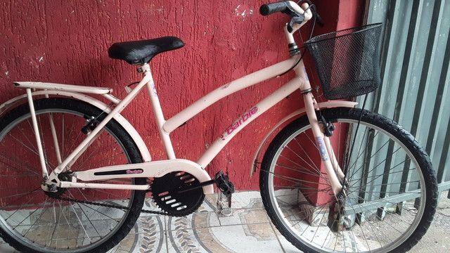 Vendo bicicleta aro 24 cesizinha - Foto 4