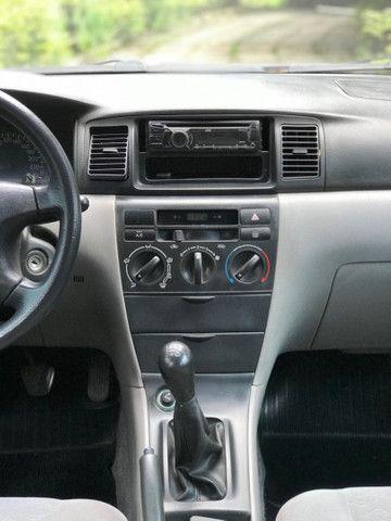 Toyota Corolla XEI 1.8 2004 (GNV 5ª geração) - Foto 12