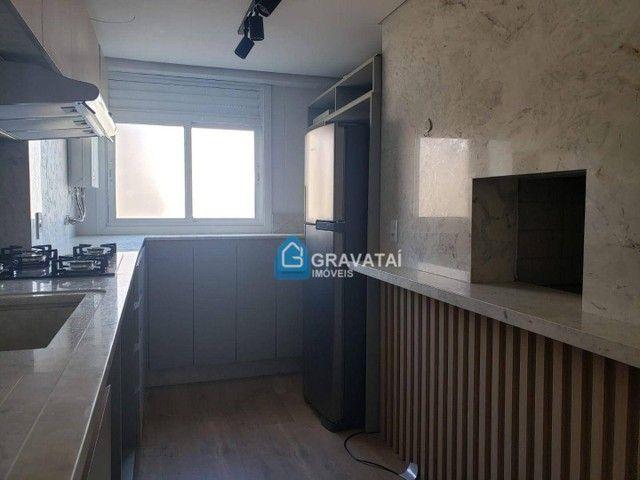 Apartamento com 2 dormitórios para alugar, 85 m² por R$ 2.200/ano - Centro - Gravataí/RS - Foto 7