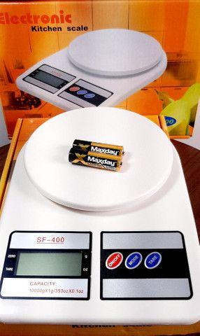 Balança Digital De Precisão Cozinha 10kg Nutrição E Dieta<br><br><br>