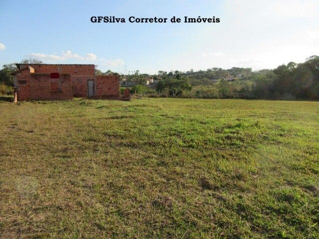 Terreno 1.000 m2 com construção água lúz internet Escritura Ref. 116 Silva Corretor - Foto 4