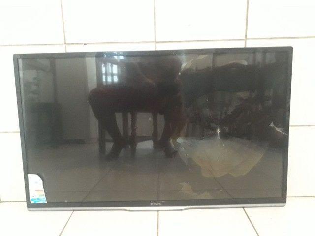 Smart 's tv com defeito nas telas! - Foto 4