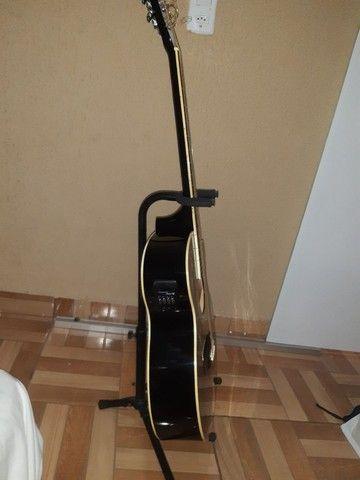 Vendo violão profissional PHX-188EQ  - Foto 5