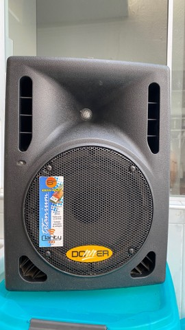 Caixa de som  AMPLIFICADA c USB - 100w Rms
