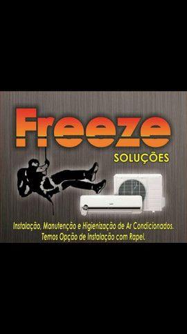 Serviços de ar condicionado, instalação manutenção
