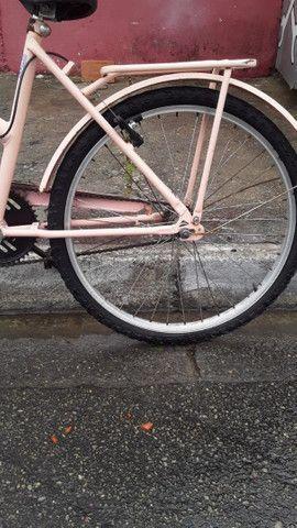 Vendo bicicleta aro 24 cesizinha - Foto 5