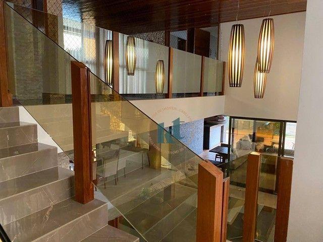 Casa com 4 dormitórios à venda, 538 m² por R$ 3.500.000,00 - Portal do Sol - João Pessoa/P - Foto 14