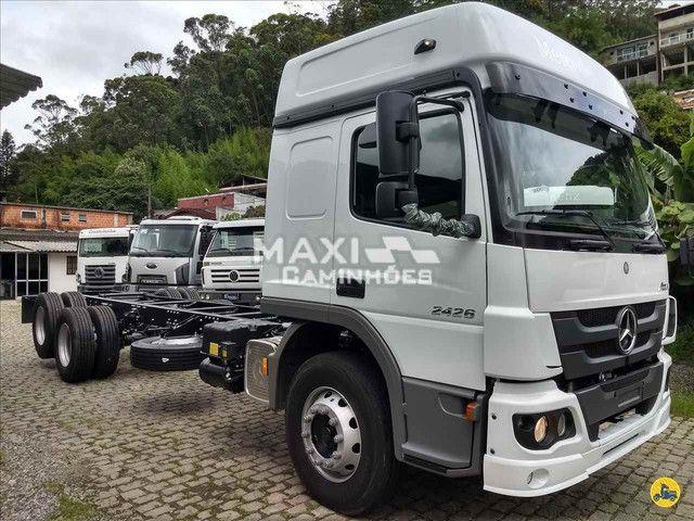 MB Atego 2426 6x2 Truck OKM Completo Pronta entrega - Foto 4