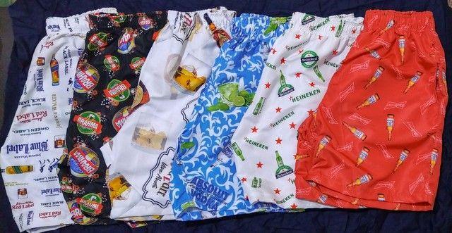 Shorts Tactel Sublimada Masculinos