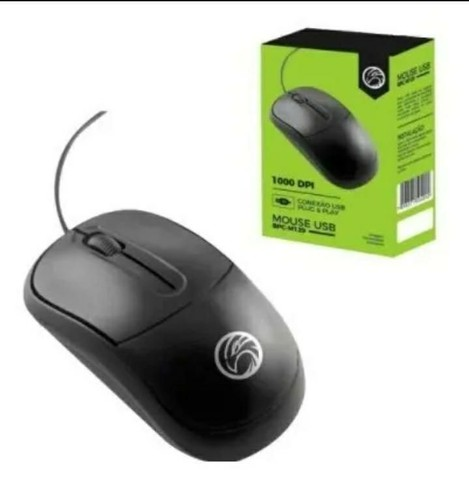 Kit Teclado Usb Office + Mouse Usb Office 1000 Dpi 5+  - Foto 3
