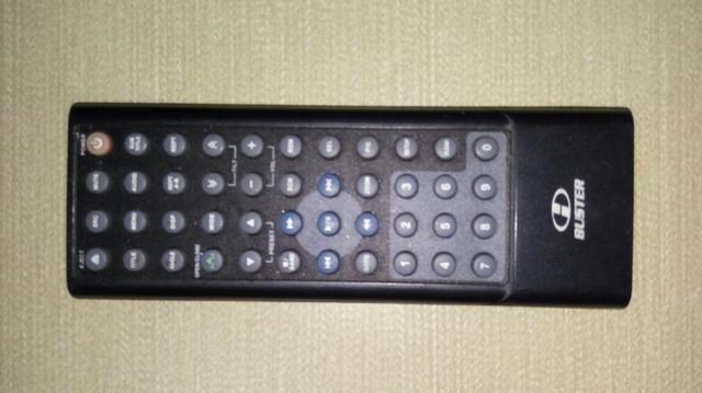 Controle remoto DVD Automotivo H-Buster Hbd-D3000avn original