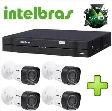 Cameras Intelbras + Dvr + Fonte