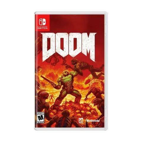 Jogo Doom Switch Card usado