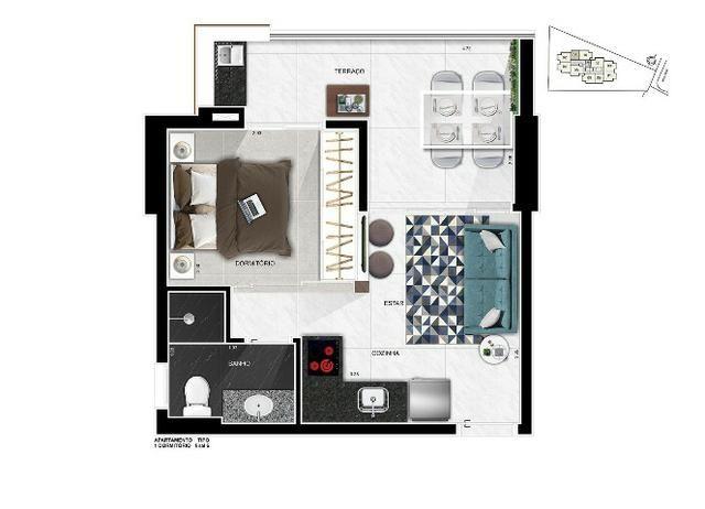Up Side Paulista, apartamentos de 2 e 1 dormitório, com vaga. Imperdível! - Foto 4