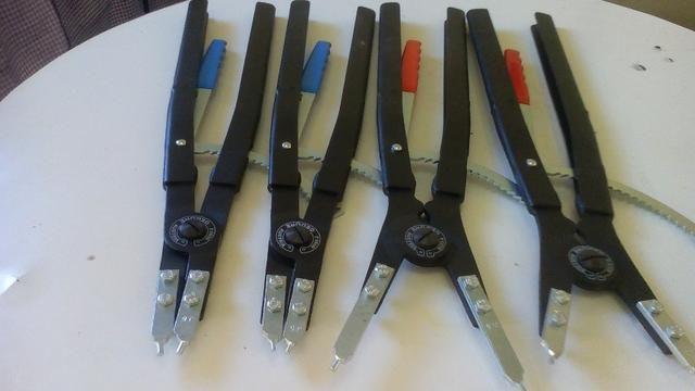Alicates p/ aneis pontas intercambiaveis gedore serie 8000 - Foto 2
