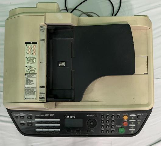 Vendo já impressora usada kiVendo impressora kiocera aceitamos cartões de crédito watsap - Foto 5
