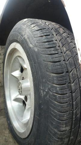 Jogo de rodas de fusca Gaúcha com 4 pneus * - Foto 4