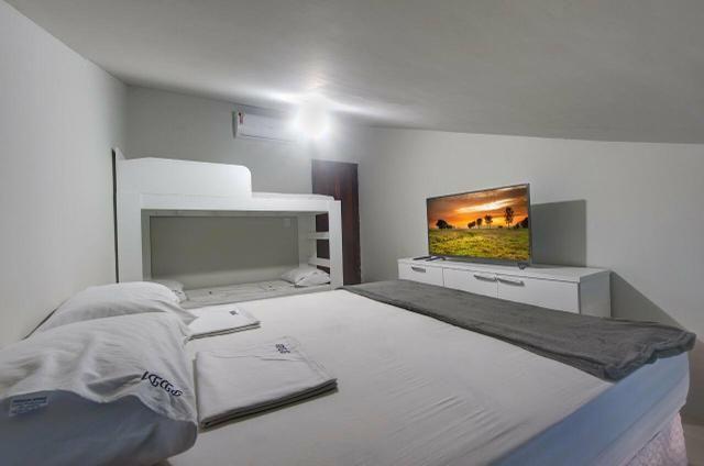 Linda mansão duplex, mobiliada, no porto das dunas - Foto 4