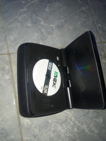 Encosto de cabeça dvd multimídia individual