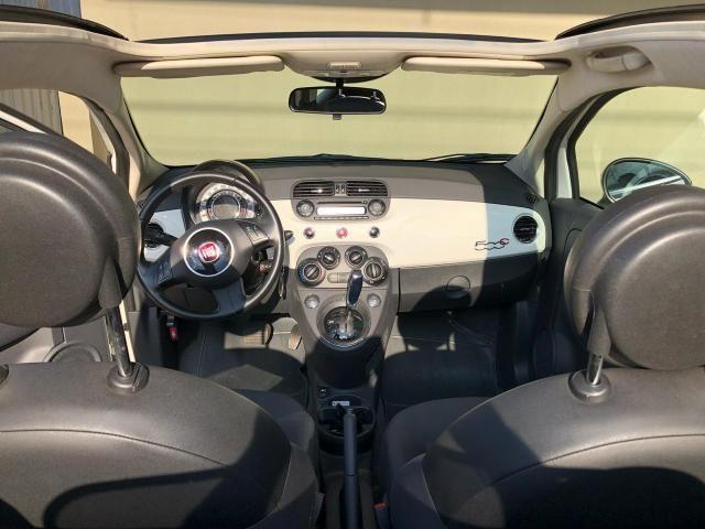 Fiat 500 cabriolet impecável - Foto 5