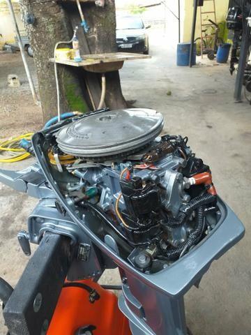 Motor evinrude 15 hp - Foto 3