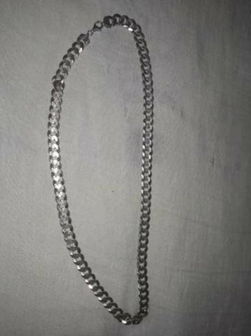 Cordão de Prata 93 gramas e 60 cm
