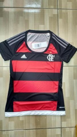 Camisa Feminina adidas Flamengo. Original. Tamanho P e G - Esportes ... 00594b24925c5