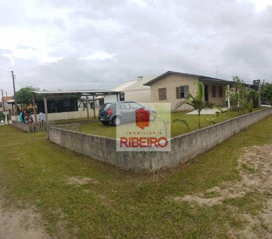 Casa com 3 dormitórios à venda, 103 m² por R$ 155.000, 350 metros do Mar - Zona Nova Norte - Foto 4