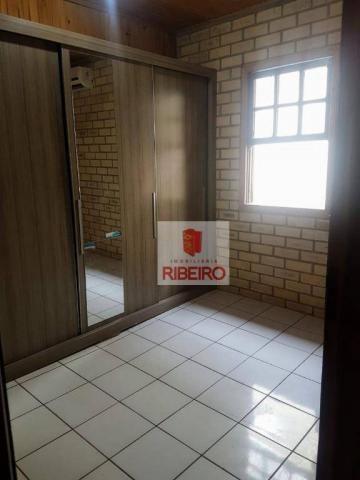 Casa com 3 dormitórios à venda, 103 m² por R$ 155.000, 350 metros do Mar - Zona Nova Norte - Foto 11