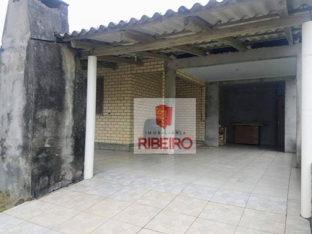 Casa com 3 dormitórios à venda, 103 m² por R$ 155.000, 350 metros do Mar - Zona Nova Norte - Foto 8