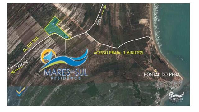 Loteamento fechado na praia do Pontal do Peba! - Foto 2