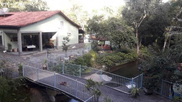 Fazenda para venda em cachoeiras de macacu, boca do mato, 7 dormitórios, 4 suítes, 6 banhe - Foto 2
