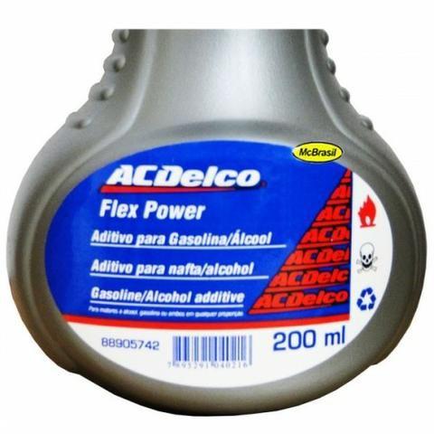 Aditivo para combustível ac delco, motores flex - Foto 2