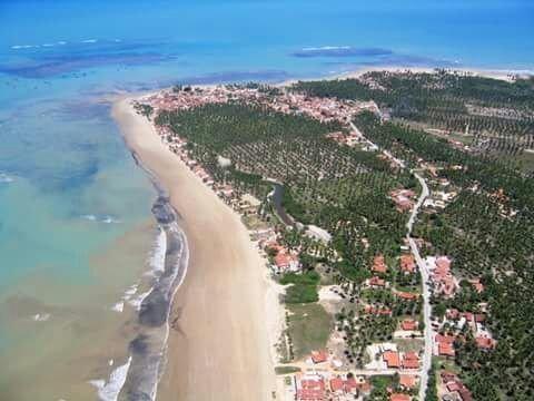 Loteamento fechado na praia do Pontal do Peba!