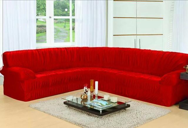 Capa de sofá de canto
