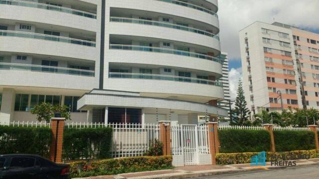 Apartamento residencial à venda, Fátima, Fortaleza - AP3406.